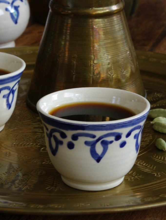 Kahwe Arabiyye – Arabic Coffee with Cardamom