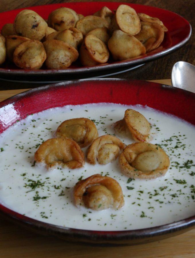 Shesh Barak – Tortellini in Cooked Yoghurt