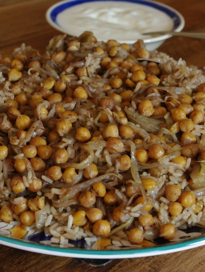 Ruz bi dfeen – Lamb with Rice and Chickpeas