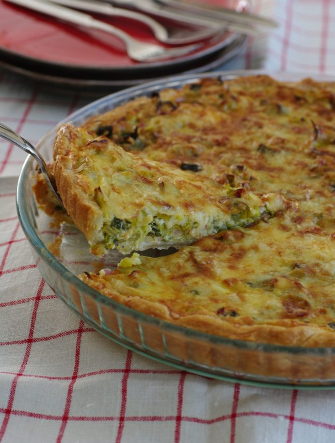 Quiche with Leek