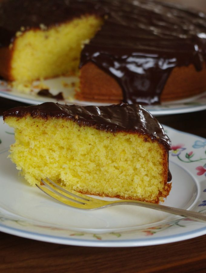 Sunshine Orange Cake
