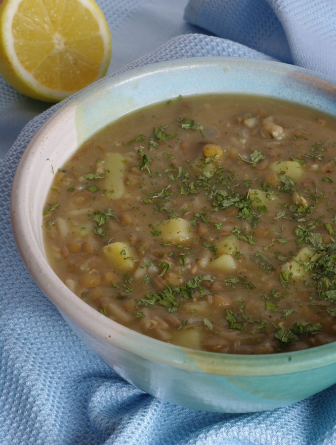 Adas bi hamed – Lentil Soup